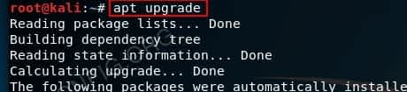 How to Update Kali Linux - Upgrade