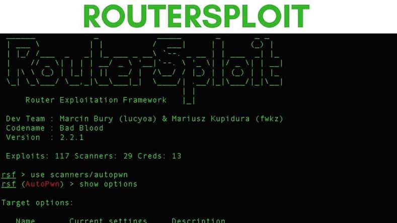 routersploit